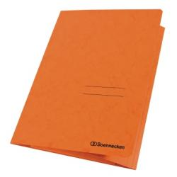 Soennecken Sammelmappe 1480 DIN A4 3Klappen Karton orange