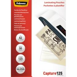 Fellowes Laminierfolie Capture 125 5309302 DIN A2 125mic 50 St./Pack.