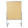 Legamaster Moderationswand PREMIUM mobil 7-2041000 beige