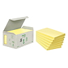 Post-it Haftnotiz Recycling Notes 6551B 127x76mm gelb 6 St./Pack.