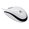 Logitech Optical Mouse M100 910-001605 USB 1.000dpi weiß