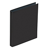 PAGNA Ringbuch Basic Colours 20605-01 DIN A4 4Ringe PP schwarz