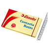 Esselte Haftnotiz Contacta Notes 83001 125x75mm gelb 100 Bl./Pack.