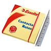 Esselte Haftnotiz Contacta Notes 83003 75x75mm gelb 100 Bl./Pack.