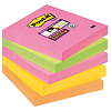 Post-it Haftnotiz Super Sticky Neon Notes 654S-N 76x76mm 5 St./Pack.