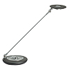 MAUL Tischleuchte MAULgalaxy 8202495 LED 9,5W Standfuß silber