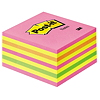 Post-it Haftnotizwürfel 2028NP 76x45x76mm 450Blatt neonpink
