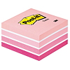 Post-it Haftnotizwürfel 2028P 76x45x76mm 450Blatt pastellpink
