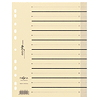 PAGNA Trennblatt Easy Rip 44063-09 DIN A4 beige 100 St./Pack.