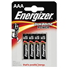 Energizer Batterie Alkaline Power E300132600 AAA Micro 4 St./Pack.