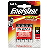 Energizer Batterie Max Alkaline E300124200 AAA Micro 4 St./Pack.
