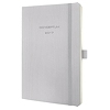 Sigel Buchkalender CONCEPTUM 2017 C1730 1W/2S light grey