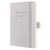 Sigel Buchkalender CONCEPTUM 2017 C1731 1W/2S light grey