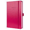 Sigel Buchkalender CONCEPTUM 2017 C1762 1W/2S cherry red metallic