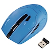 Hama Funkmaus Milano 00053944 USB optisch wireless blau
