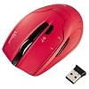 Hama Funkmaus Milano 00053943 USB optisch wireless rot