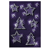 Sigel Weihnachts-Sticker CS212 83x122mm Crystal 6 St./Pack.