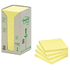 Post-it Haftnotiz Recycling Notes Tower 654-1T 76x76mm 16 St./Pack.