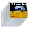 Soennecken CD/DVD Jewel Case 4712 Kunststoff transparent 5 St./Pack.