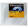 Soennecken CD/DVD Slim Case 4723 Kunststoff klar 10 St./Pack.