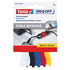 tesa Kabelbinder On & Off Cable Manager 55236-00000 5 St./Pack.