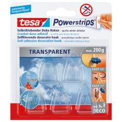 tesa Dekohaken Powerstrips 58900-00013 30mm tr 5 St./Pack.