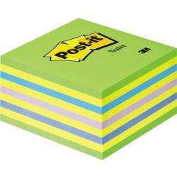 Post-it Haftnotizwürfel 2028NB 76x45x76mm 450Blatt neongrün