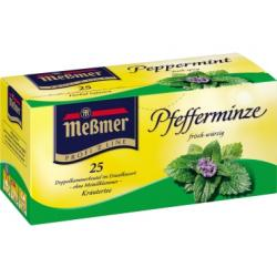 Meßmer Tee 2514 Pfefferminze 25 Btl./Pack.
