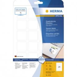 HERMA Etiketten Movabels 10108 40x40mm weiss 600 St./Pack.
