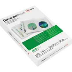 GBC Folientasche DocumentPouch IB585036 DIN A4 100 St./Pack.