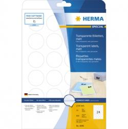 HERMA Etikett SuperPrint 4686 40mm Kreis tr 600 St./Pack.