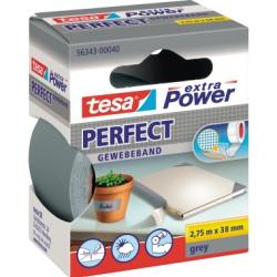 tesa Gewebeband extra Power Perfect 56343-00040 38mmx2,75m grau