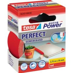 tesa Gewebeband extra Power Perfect 56343-00038 38mmx2,75m rot