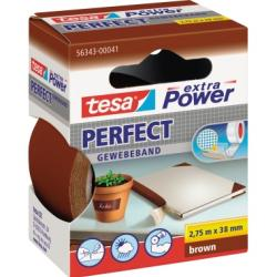 tesa Gewebeband extra Power Perfect 56343-00041 38mmx2,75m braun