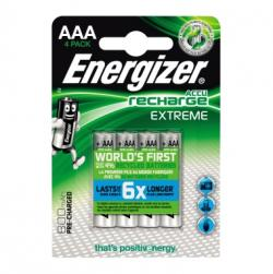 Energizer Akku Recharge Extreme E300624400 AAA/HR3 4 St./Pack.