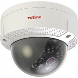 ROLINE Kamera RDOF4-1 Fixed Dome 21.19.7309 4MP Outdoor 4mm IR