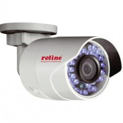 ROLINE Kamera RBOF2-1W Bullet 21.19.7306 2MP Outdoor 4mm IR  WLAN