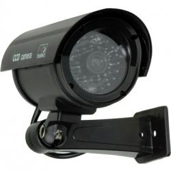 value Kamera Dummy Outdoor 21.99.1626 LED Blinklicht schwarz