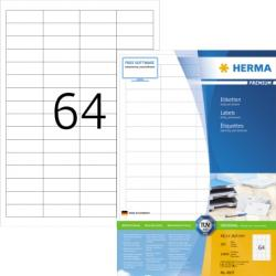 HERMA Etikett SuperPrint 4607 48,3x16,9mm weiß 12.800 St./Pack.