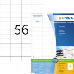 HERMA Etikett SuperPrint 4609 52,5x21,2mm weiß 11.200 St./Pack.
